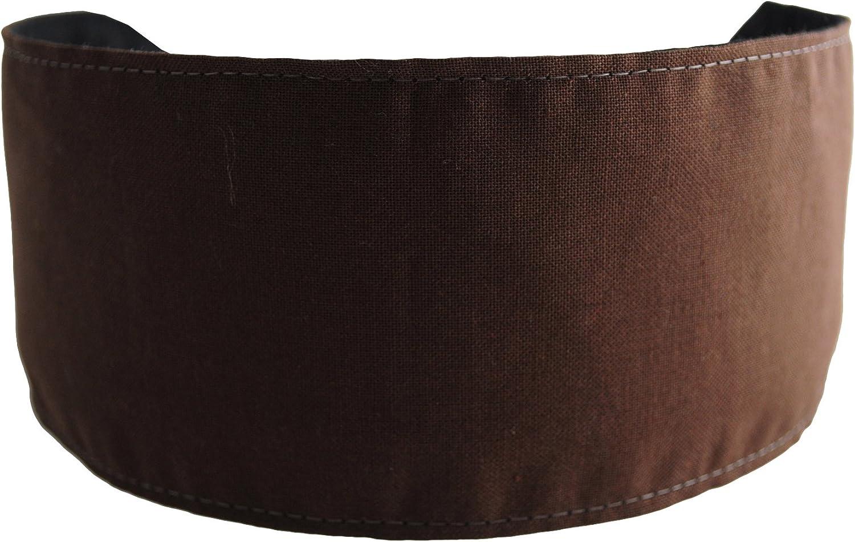 Bargain Headbands, Chocolate Brown, Cocoa Soft Fabric Beautiful and Elegant Headband