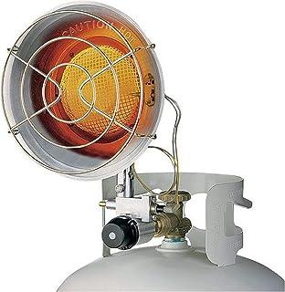 World Marketing of America TT-15S - Calefactor (Calentador infrarrojo, Infrarrojo, Piso, Plata, 65,03 m², 228,6 mm)