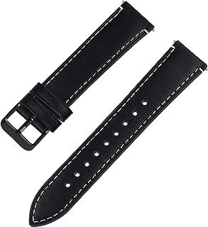 Fullmosa 6 Couleurs Bracelet de Montre en Cuir à l'huile, 14mm 16mm 18mm 20mm 22mm 24mm Bracelet Montre Retro avec Goupill...