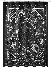 Killstar Zodiac Shower Curtain