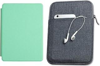 Capa Kindle 10ª geração com iluminação embutida Verde Menta - Função Liga/Desliga - Fechamento magnético + Bolsa Sleeve Ci...