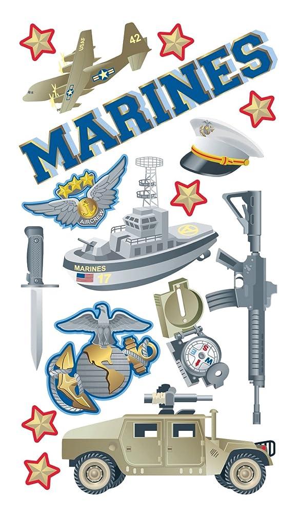 Sticko Marines Stickers