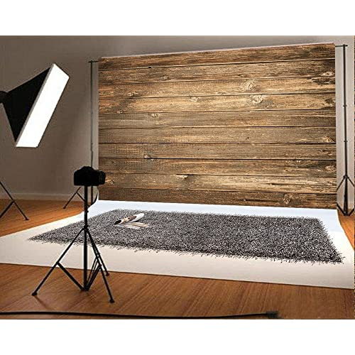 01ab0babf Seamless Backdrop Gray Wood Photo Backgrounds Wood Wall Wrinkle free  Photography Backdrops wd1772 (7x5ft)
