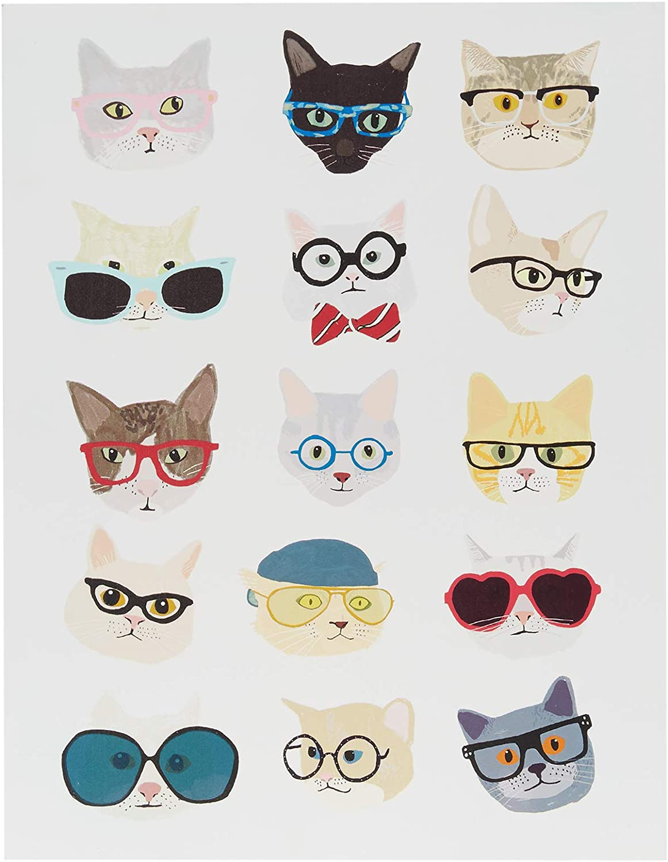 Intelligent Design discount Hip Cat Wall Mo Print Box Art Deco Superlatite