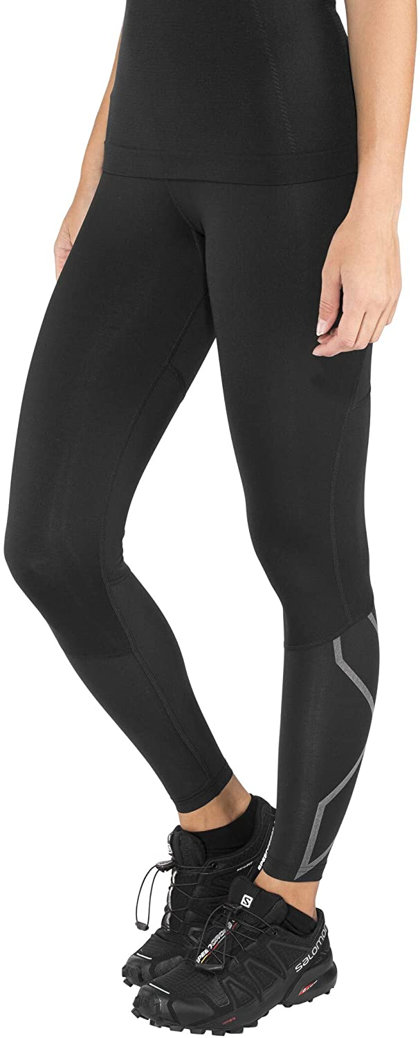 2XU 100% quality warranty Women's Run Mid Year-end gift Comp Rise Tights