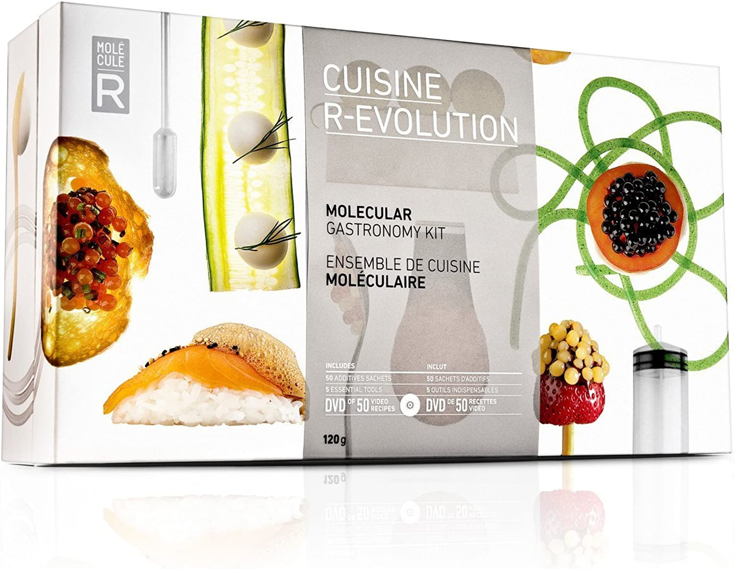 Molecule-R Cuisine R-Evolution (Now With Silicon Mold)