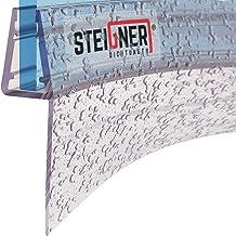 Sello de ducha redondeado ducha cuarto c/írculo redondo arqueado de 5mm// 6mm// 7mm// 8mm de cristal grueso alrededor de reemplazo de la junta 100cm UK09