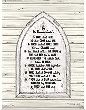 GREATBIGCANVAS Poster Print Ten Commandments by Cindy Jacobs 30