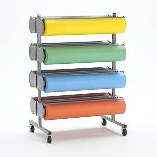 Deluxe 8 Paper Roll Dispenser Rola Rack 36