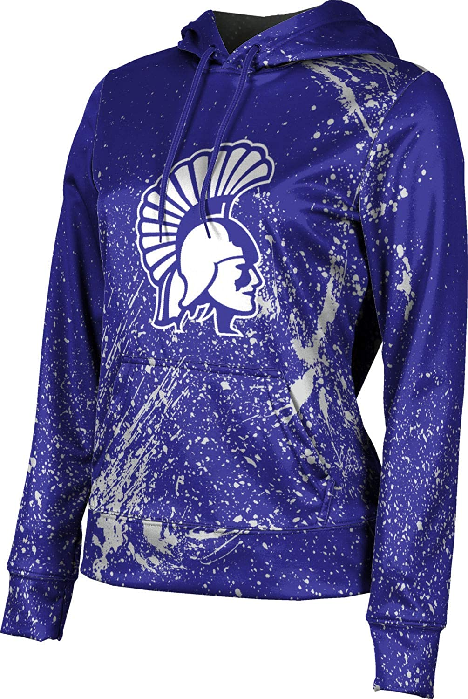 ProSphere Winona State University Girls' Pullover Hoodie, School Spirit Sweatshirt (Splatter)