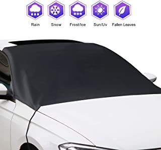 KKTICK Car Windshield Snow Ice Cover Extra Large 85 x 49 Windscreen Ice Protector Cover for Fit for Most Cars /& SUVs