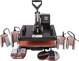 CO-Z 1250W 30 x 38 cm Presse à Chaud Transfert, Presse de Chaleur pour T-Shirt, Heat Press Machine pour Chapeau Assiette, ...