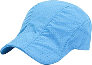 AIEOE Gorra de secado rápido, gorra de verano, transpirable, para deportes al aire libre, para senderismo, montañismo, cor...
