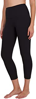 "High Waist Squat Proof Capris - 22"" Interlink Workout Capris"