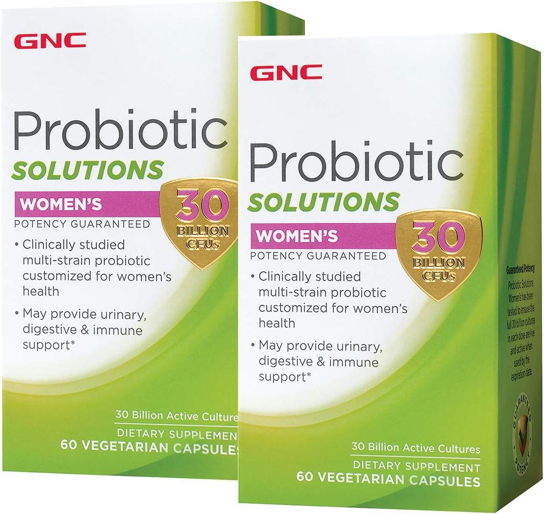 GNC Probiotic Solutions - Tucson Deluxe Mall Women's 30 P CFUs Twin Billion