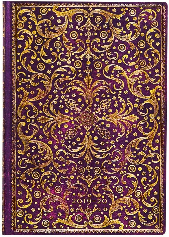 買収 Paperblanks 18 Month Softcover Aurelia Flexis 2019-2020 Diaries 全店販売中
