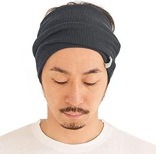 Mens Wide Headband 100% Cotton Womens Yoga Hairband Sports Fashion Made in Japan