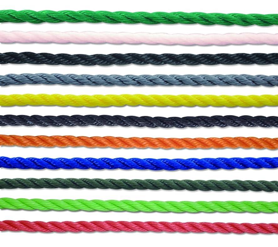 息子口道徳教育グランド 高品質ラインロープ シルバー 6mm×200m巻 よく売れるサイズです 運動会用品