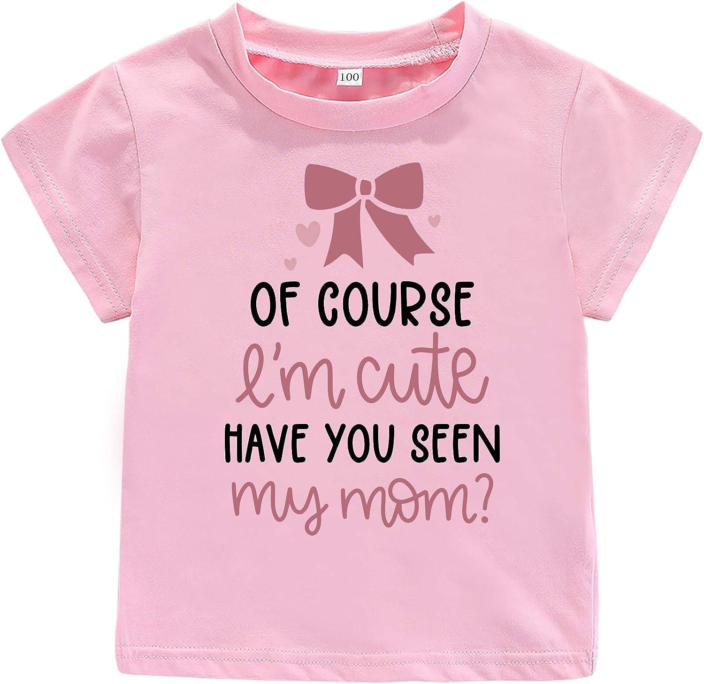 Sassy Like Mom Toddler Baby Girls Short Sleeve Top Mommy's Gift Shirt