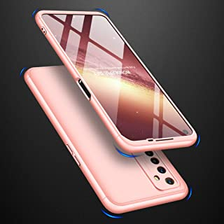 AKDSteel Anti-Drop Protective Shell for O-PP-O Realme 6 Mobile Phone Cover 360 Degree Full Protection Phone Case Rose Gold...