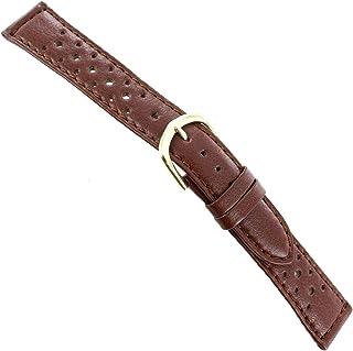 18mm Speidel Brown Sport Calf Genuine Leather Mens Driving Band Reg 5070 530