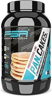 Protein Pancakes, Tortitas de proteína bajas en carbohidratos y en grasas, 600 g - de la marca de deporte profesional FSA Nutrition, fabricado en Alemania
