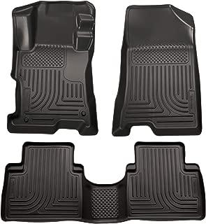 Husky Liners Fits 2008-12 Honda Accord 4 Door Weatherbeater Front & 2nd Seat Floor Mats