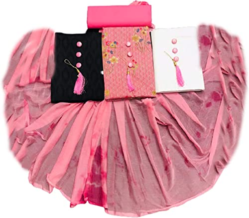Women s Cotton Unstitched Dress Material