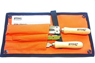 STIHL 5605 007 1027 Complete Saw Chain Filing Kit For 1/4-Inch and 3/8-Inch, 5/32-Inch