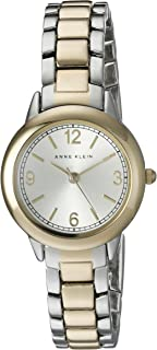 Anne Klein Women's AK/1793SVTT Two-Tone Bracelet Watch