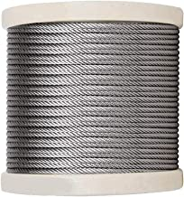 1/8 Inch T316 Stainless Steel Aircraft Wire Rope for Deck Cable Railing kit(800FT)