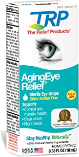 The Relief Products AgingEye Relief Sterile Eye Drops, 0.33 Fl. Oz.