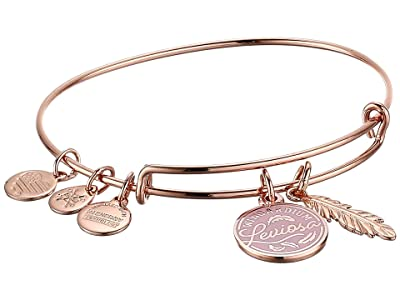 Alex and Ani Harry Potter Duo Bangle Bracelet (Rose Gold/Leviosa) Bracelet