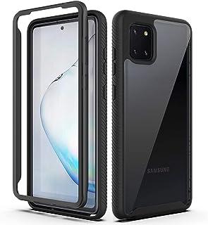 Samsung Galaxy Note10 Lite Mezzanine Case,ZUERCONG Heavy Duty Rugged Non-Slip Clear Bumper Anti-Scratches Drop Protection ...