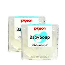 Pigeon, Baby Transparent Soap wo Case Combo of, Translucent, 2 count, fs (Z991)