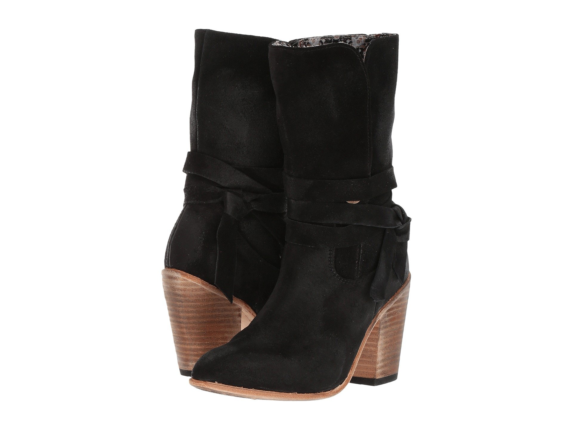 FREEBIRD Riot, Black Suede