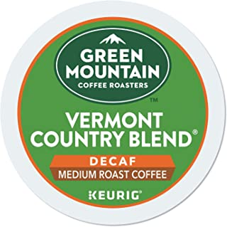 Green Mountain Coffee Vermont Country Blend Decaf Keurig Single-Serve K-Cup pods, Medium Roast Coffee, 96 Count
