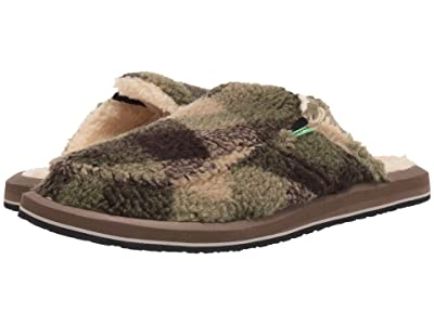 Sanuk You Got My Back II Chill (Brown Plaid) Men