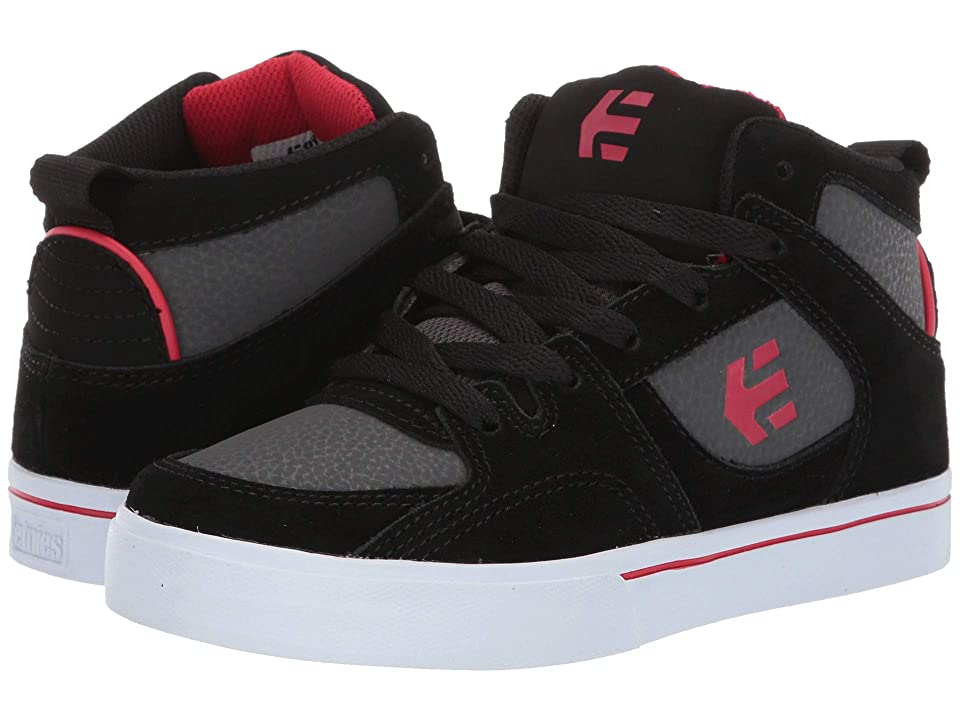 etnies Kids Harrison HT (Toddler/Little Kid/Big Kid) (Black/Grey) Boy