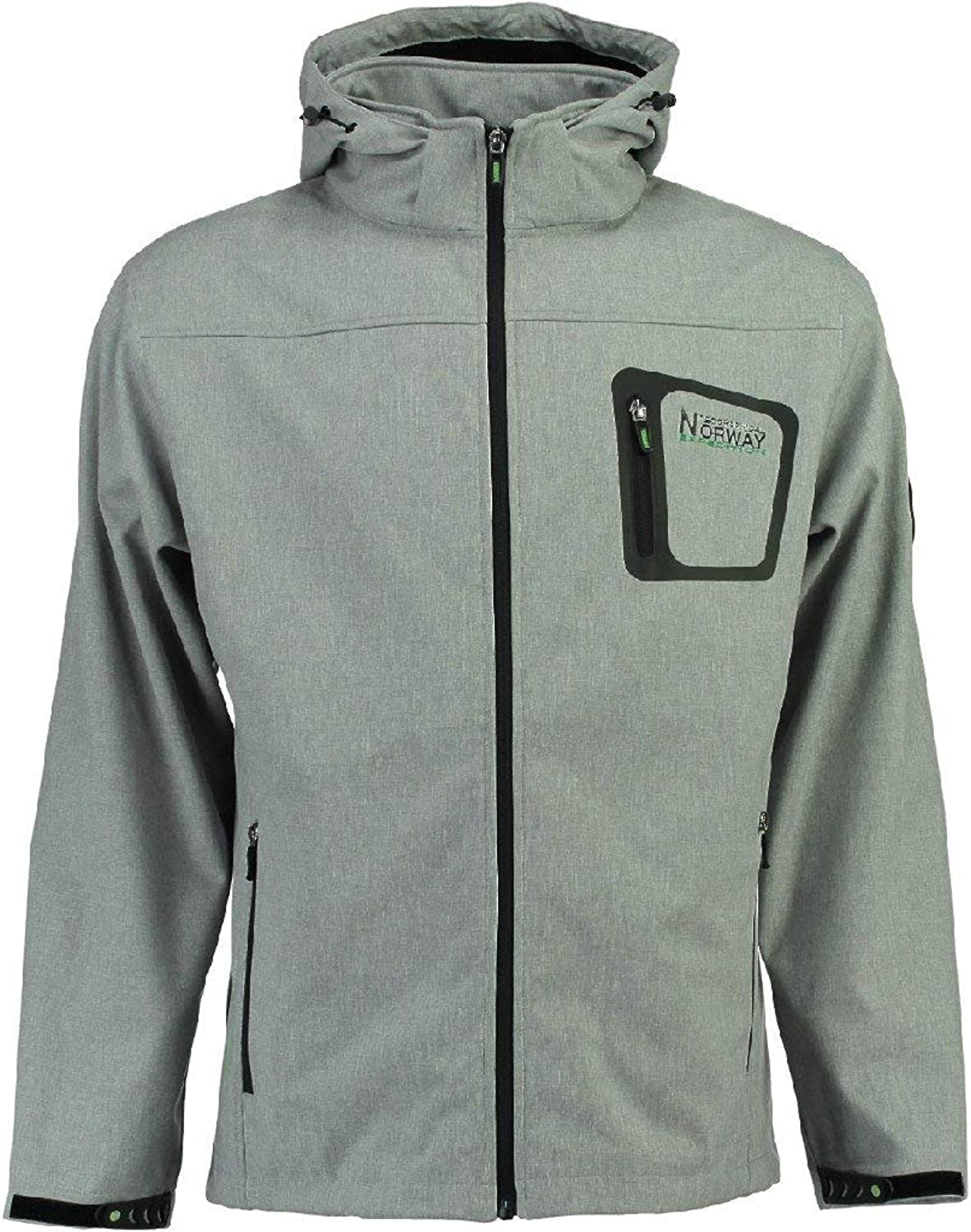 Geographical Norway Softshell Jacket  TEXSHELL Light Grey