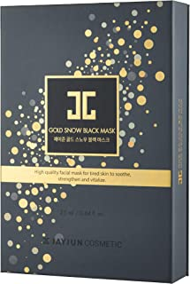 JAYJUN Gold Snow Black Mask 25ml (5 Masks) and Serum Amuples (5 pcs)
