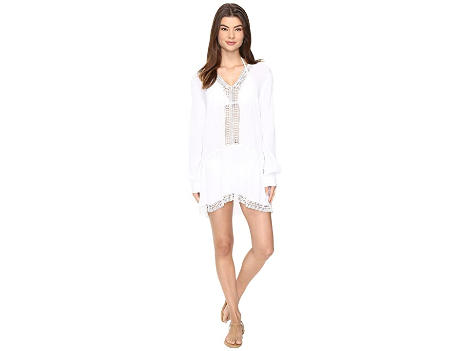 Athena Willow Tunic Cover-Up (White) Women