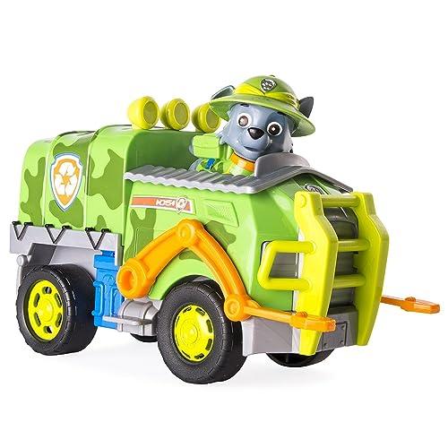 Paw Patrol   Jungle Rescue – Rocky Et Camion – Figurine Et Véhicule De La  Pat f0cf37b79a53