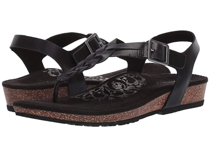 Aetrex  Harper (Black) Womens Sandals