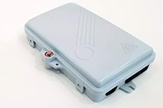 Bud Industries FBR-11606 6-Core Fiber Optic Distribution Box