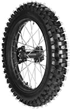 WPHMOTO 90/100-16 Rear Wheel Tire and Rim Inner Tube With 15mm Bearing Assembly for Pit Pro Trail Dirt Bike