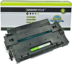 GREENCYCLE High-Yield 55A CE255A Toner Cartridge Replacement Compatible for HP Laserjet P3010 P3011 P3015 P3015d P3015x P3016 M521dn M525dn M525f M525c, Page Yield Up to 10000 Pages (Black, 1 Pack)