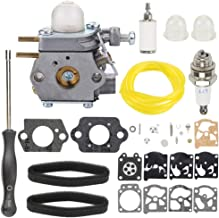 Trustsheer BL110 BL160 Carburetor 753-06190 WT-973 for Bolens BL425 Troy-Bilt TB80EC TB32EC TB21EC TB22EC TB2040XP Murray M2500 M2510 String Trimmer Brushcutter