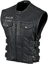 Best street & steel anarchy leather vest Reviews