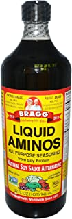 Bragg Liquid Aminos, Natural Soy Sauce Alternative, 32-Ounce Bottle , (Pack of 3)